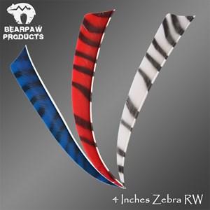 4 Inches Zebra RW
