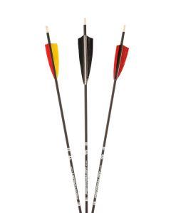 40820 Slim Line Black Feathers