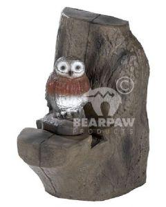 60181 FB Little Owl & Backstop